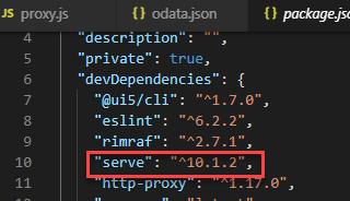 UI5 Tooling – Custom Server Middleware Proxy Extension | SAP