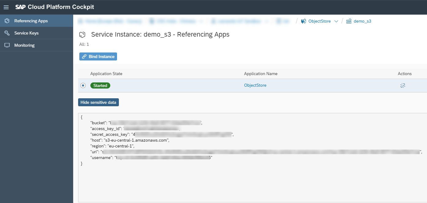 Document Storage in Cloud Foundry with AWS S3 | SAP Blogs