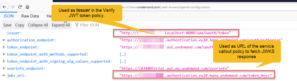 Part 4: Configuring JWT token verification flow for SAP
