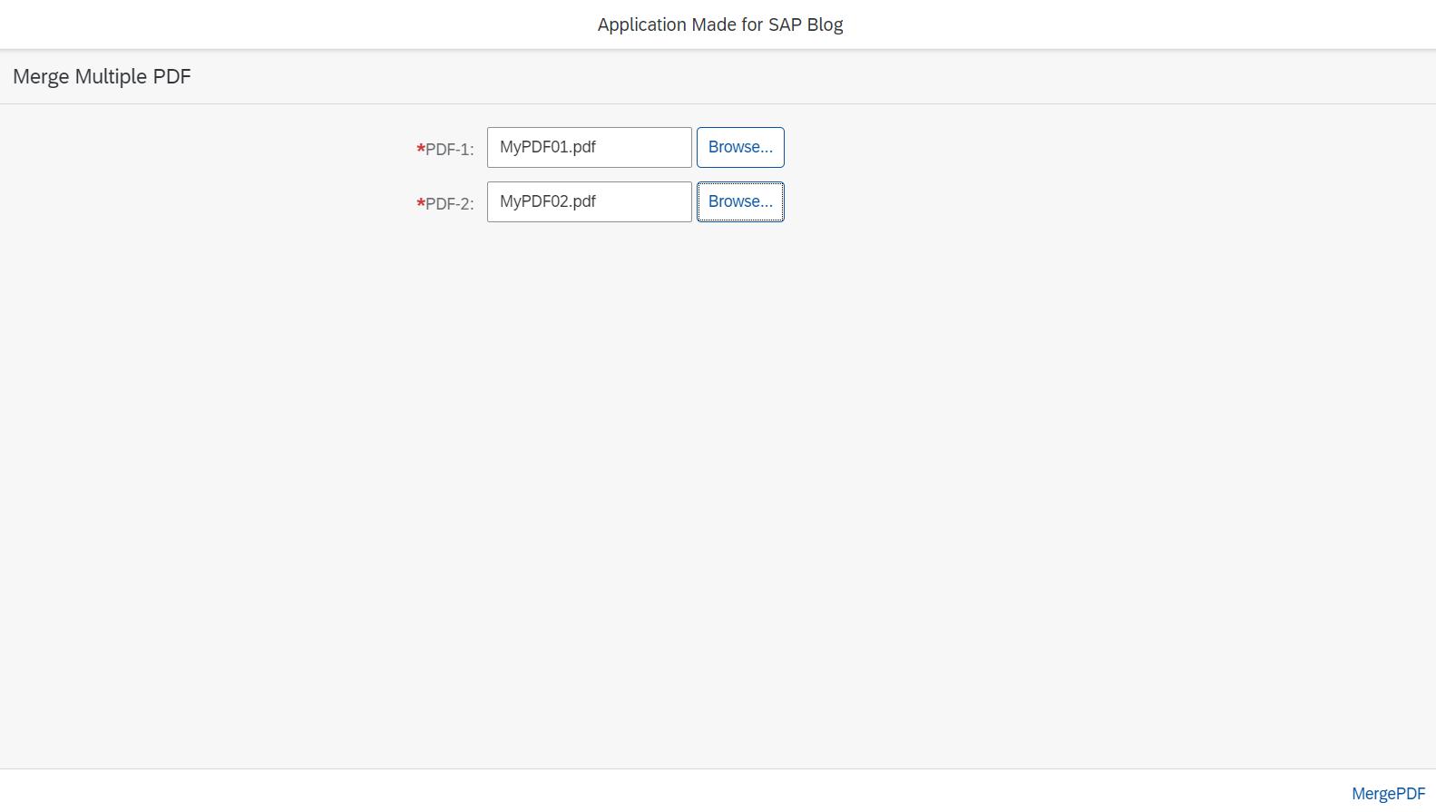 Merge PDFs using JAVA on SAP Cloud Platform | SAP Blogs