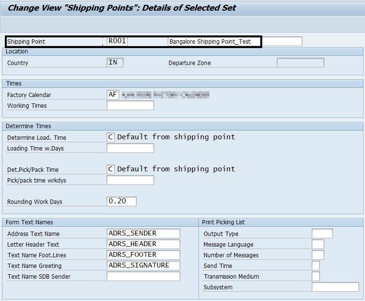Creation Of New Plant For An Existing Company Code Sap Blogs