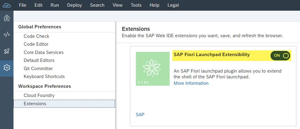 Winter experience in SAP Fiori
