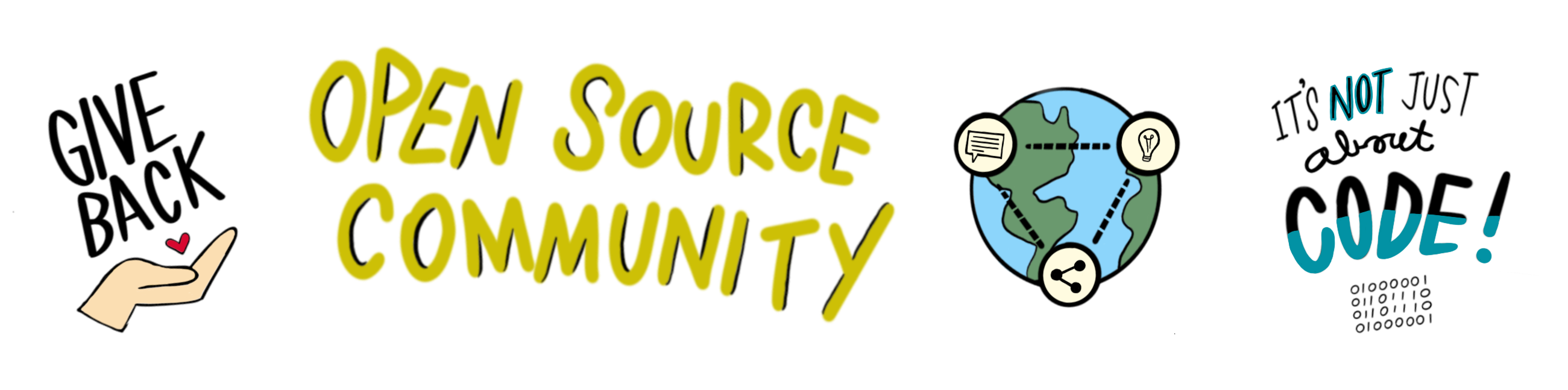 Open Source Community Sketchnote