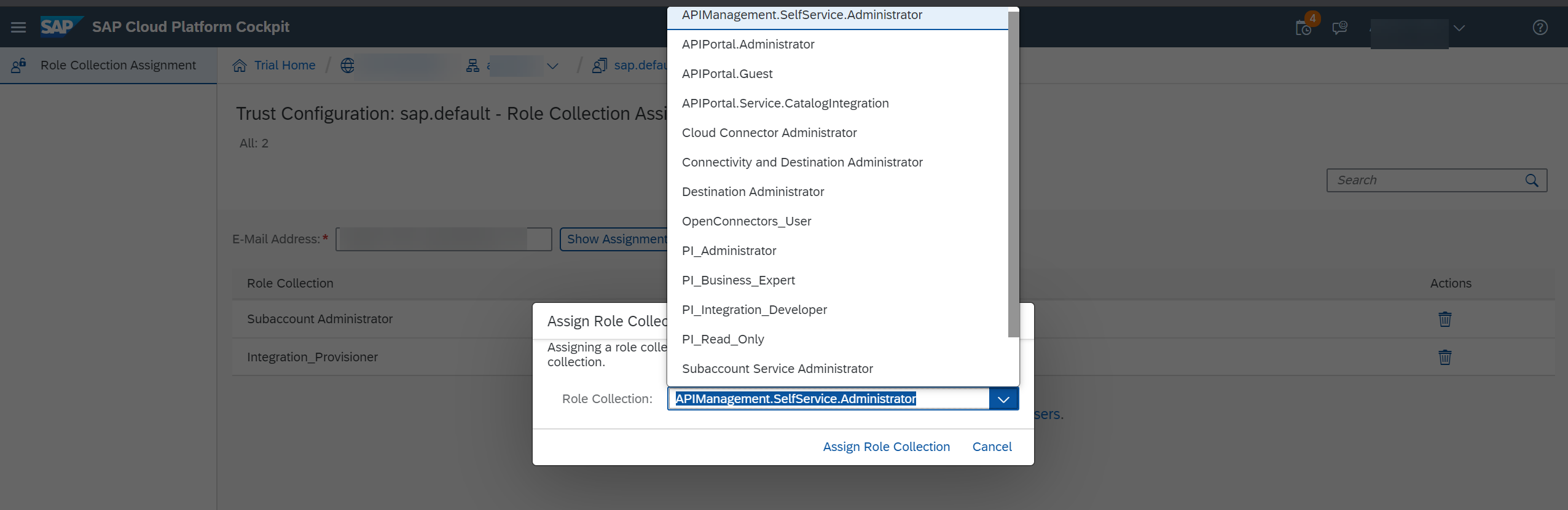Assign%20Roles%20for%20accessing%20the%20capabilities