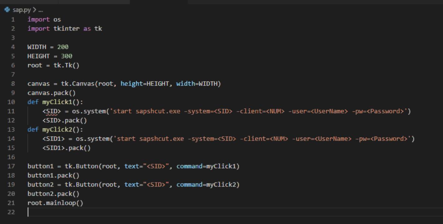 Login to SAP Using Python   SAP Blogs