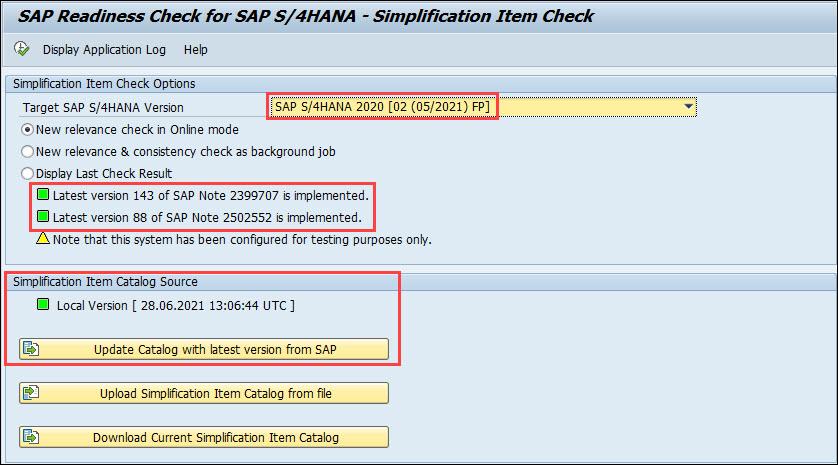 SAP%20S/4HANA%20-%20Simplification%20Item%20Check%20-%2007/2021