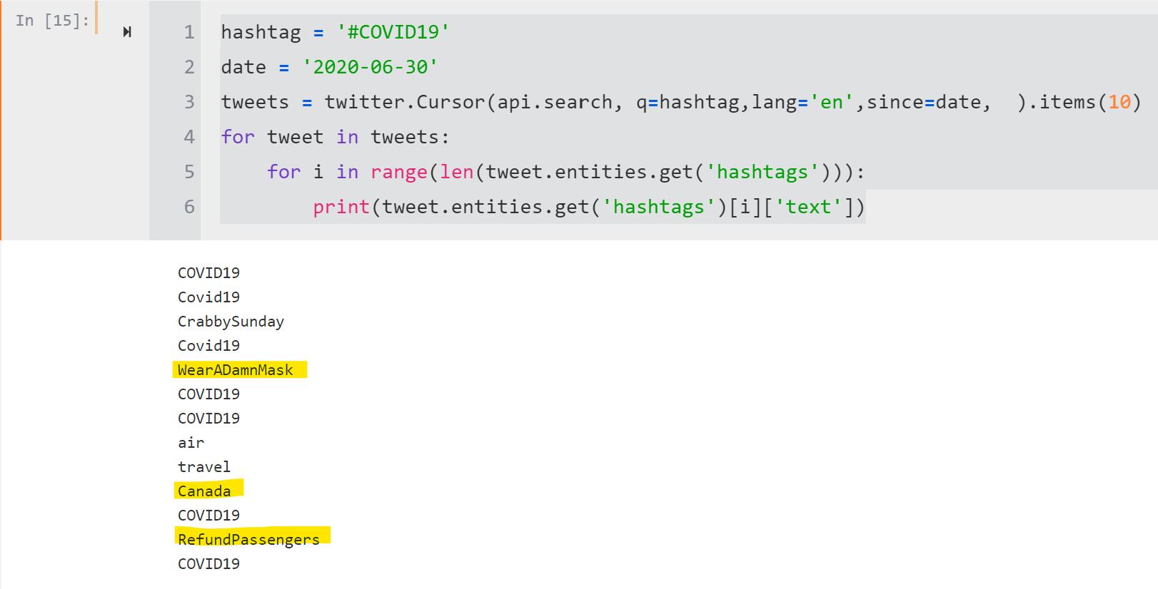 COVID 20 Tweets analysis using HANA ML Python APIs.   SAP Blogs