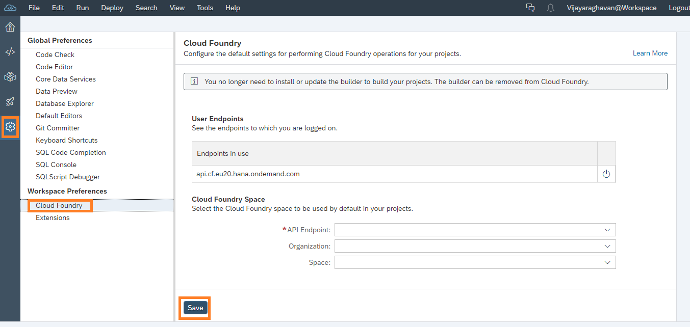 Configuring%20End%20Point%20for%20Cloud%20Foundry