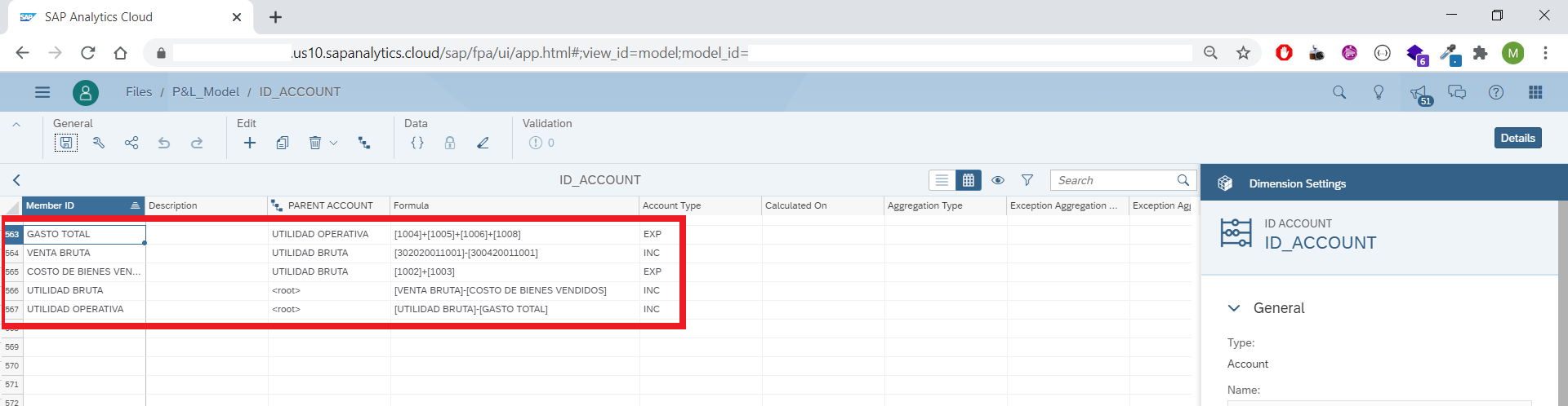 Create a Profit & Loss Statement in SAP Analytics Cloud importing ...