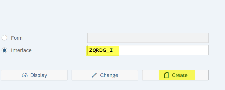 Create%20Interface%20for%20the%20form