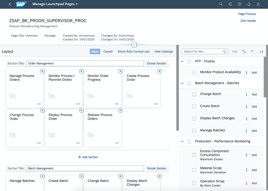 SAP%20Fiori%20app%20F4513%20Manage%20Launchpad%20Pages