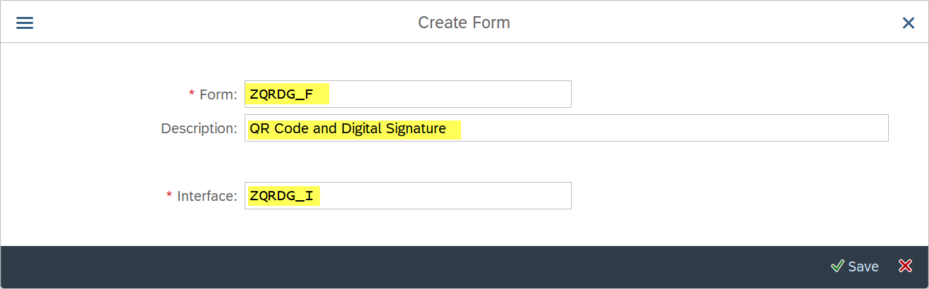 Assign%20Form%20Interface%20created%20above%20and%20give%20description%20to%20the%20form