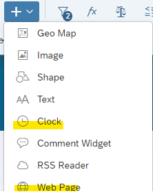 Insert%20Clock%20and%20Web%20Page%20Objects