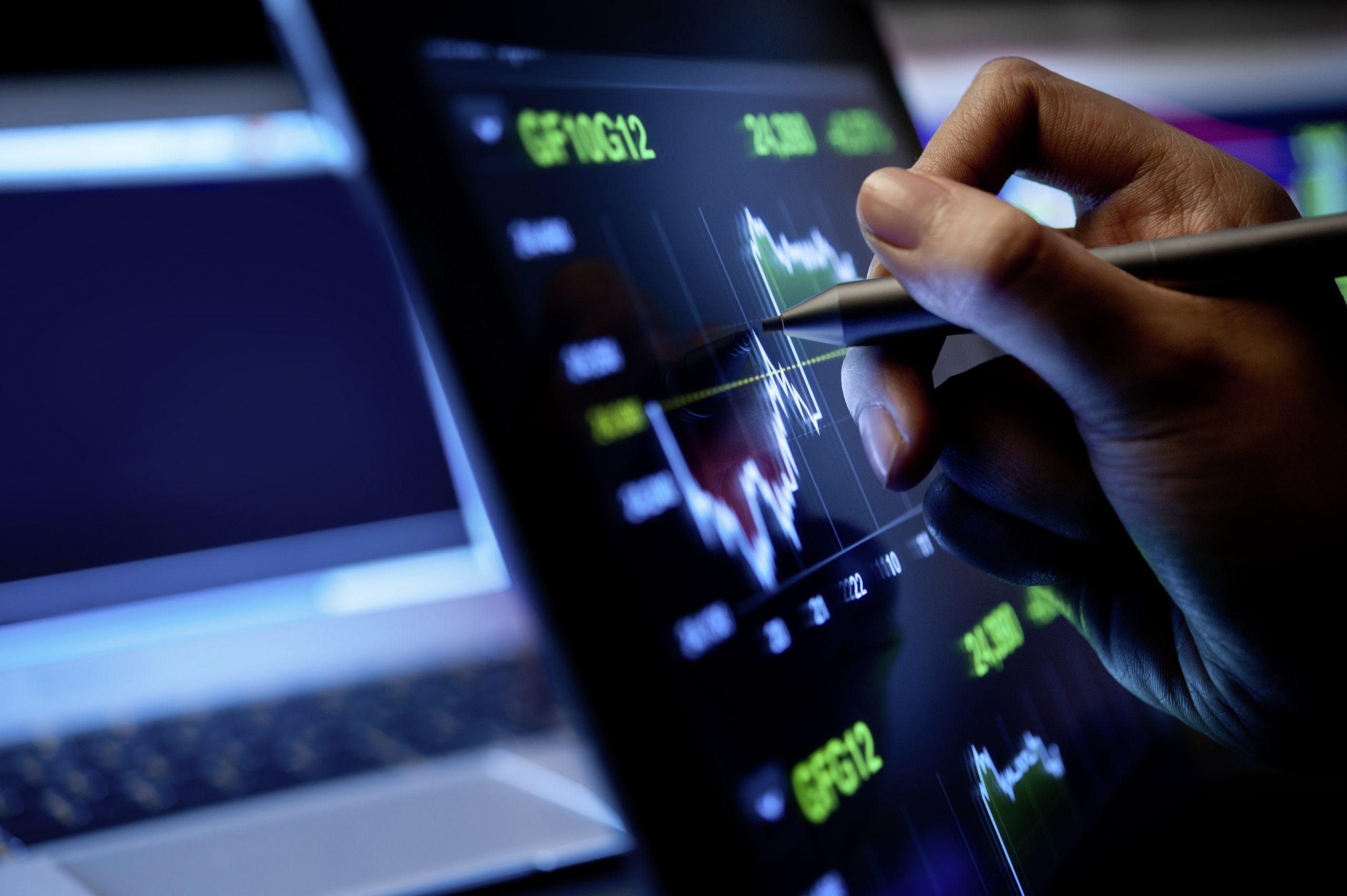 Enterprise analytics on a tablet