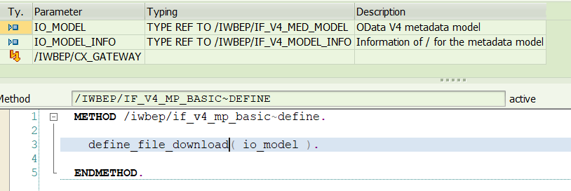 Model%20Provider%20Class%20-%20Define%20Method