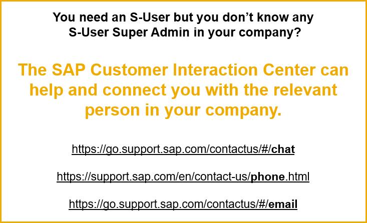 How do I get access to SAP for Me?