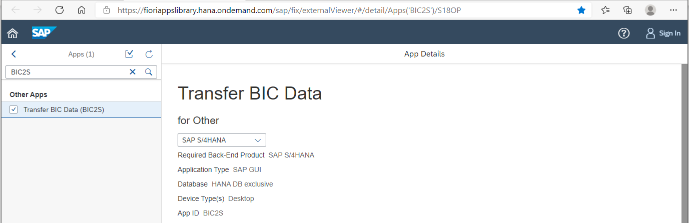 BIC2S%20-%20Fiori%20Reference%20Library