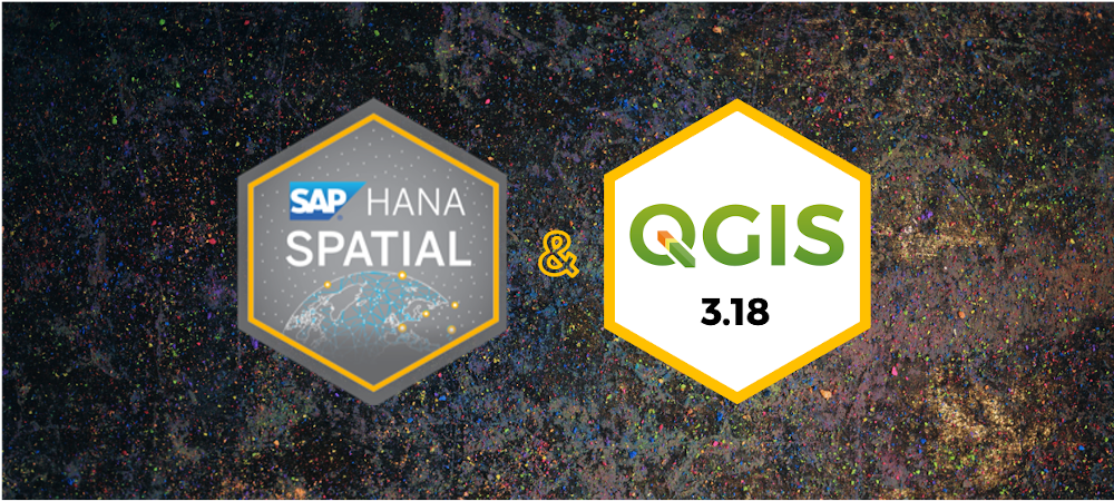 QGIS 3.18 supports SAP HANA Cloud