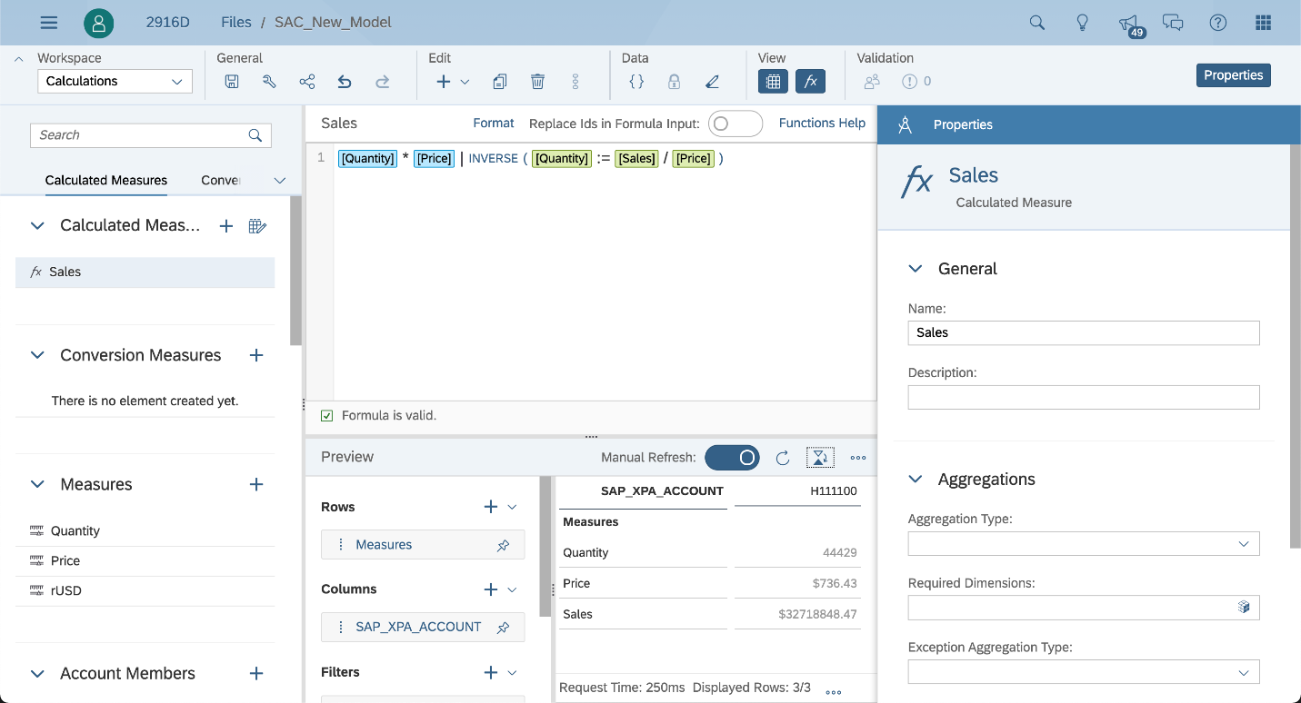 SAP Analytics Cloud, flexible new modeling options, image 1