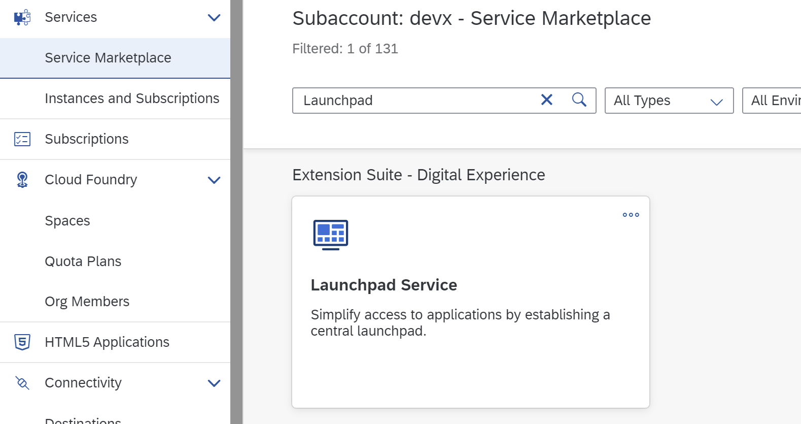 Vue Development with SAP Business Application Studio