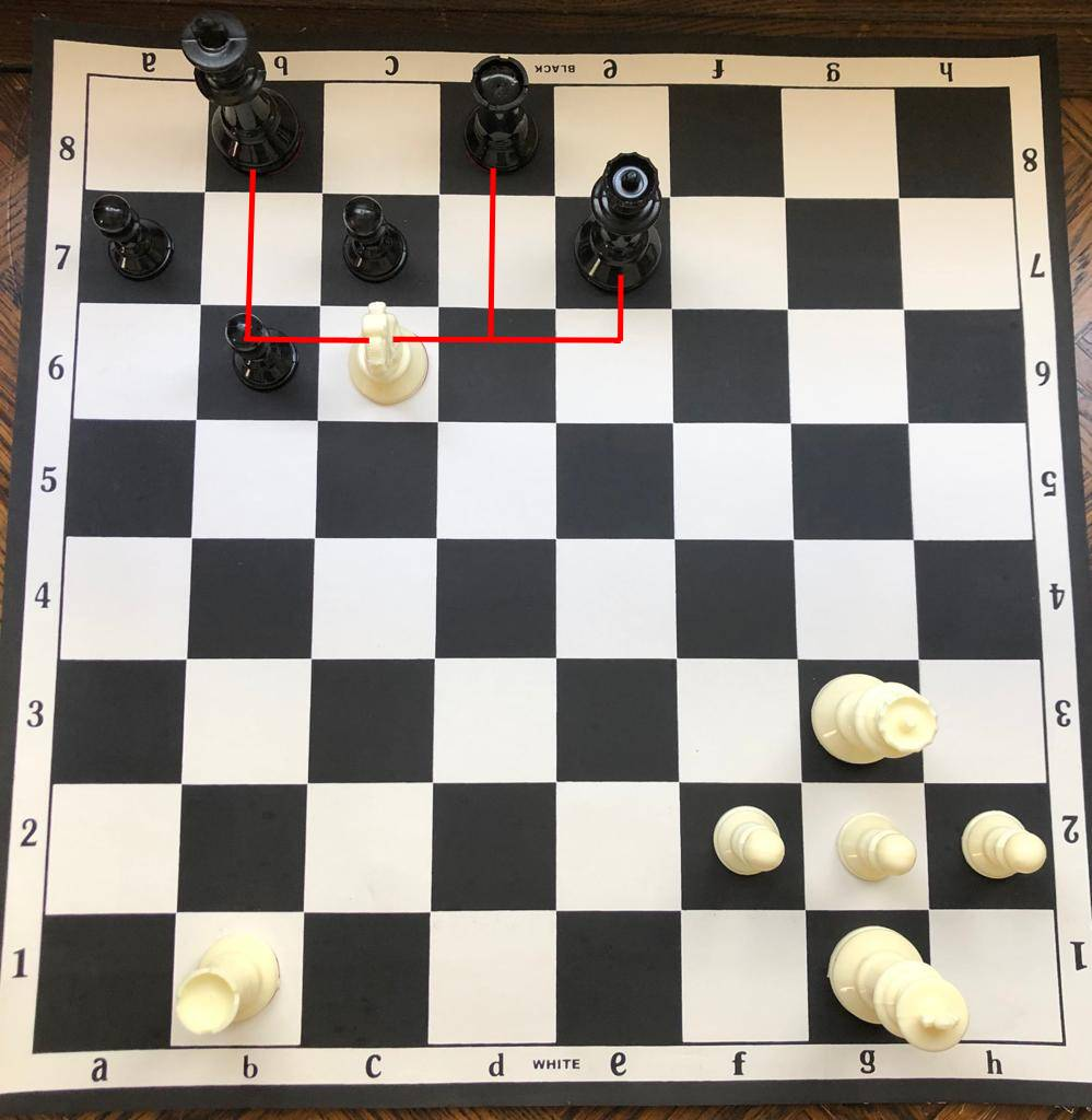 The%20white%20knight%20%28minor%20piece%29%20delivers%20a%20grand%20fork%20checking%20the%20opponent%20King%20while%20simultaneously%20attaching%20their%20Queen%20and%20Rook.