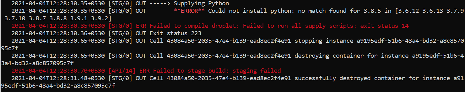 logs%20displaying%20wrong%20version%20of%20python%20used%20in%20runtime.txt