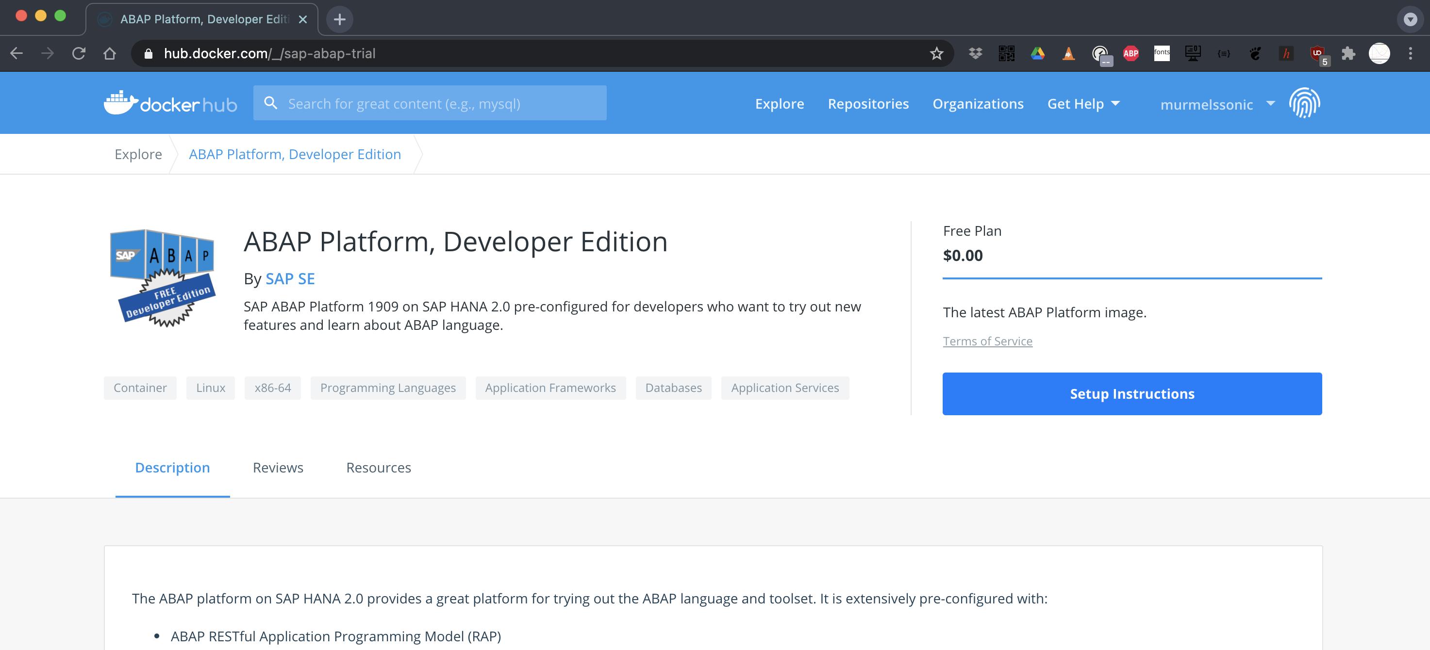 Install Abap Platform Developer Edition on Docker for MacBook ...