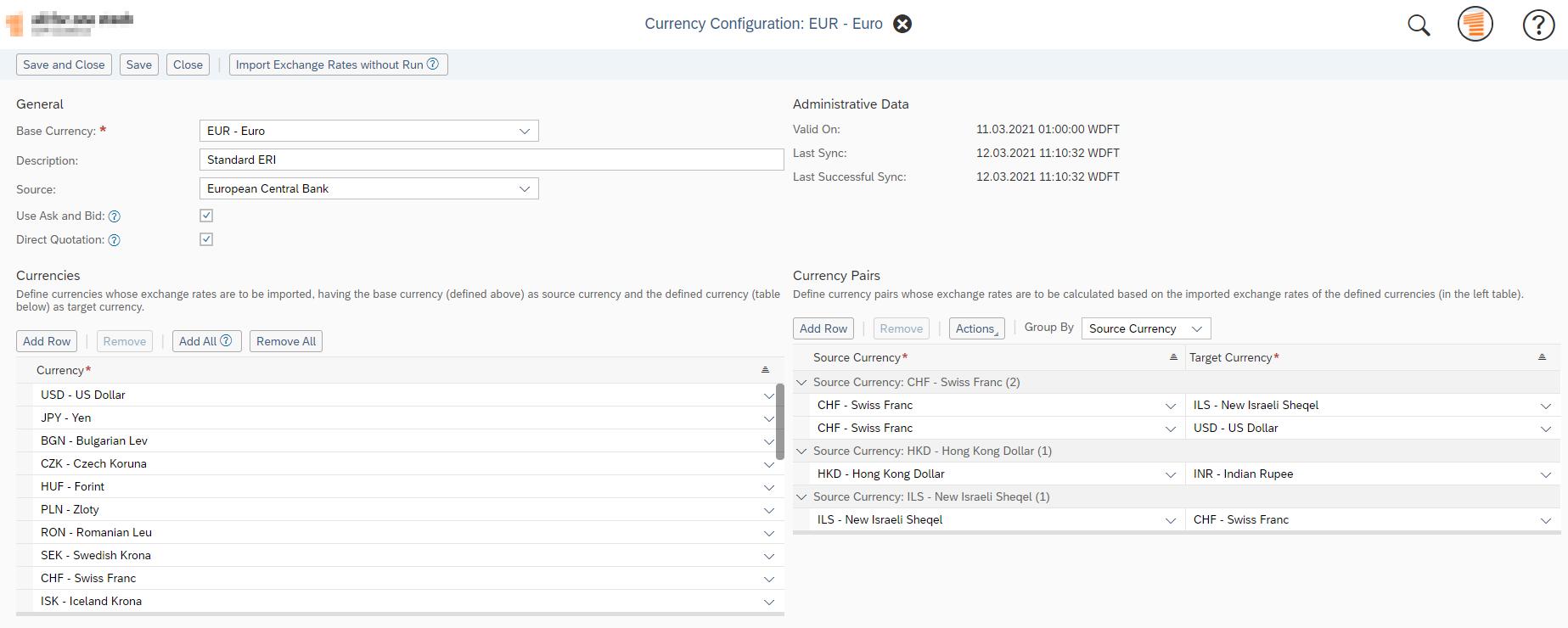 Exchange%20Rate%20Import%20-%20configuration%20screen