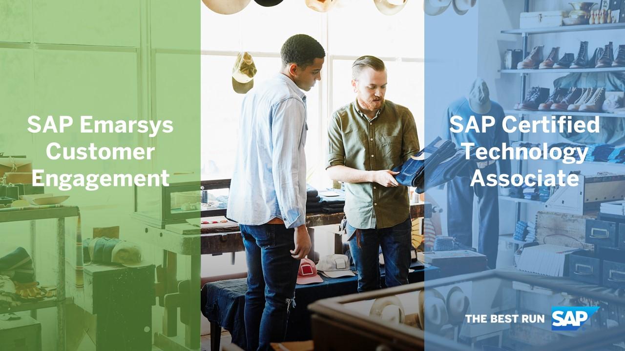 SAP%20Emarsys%20Customer%20Enagement%3A%20SAP%20Certified%20Technology%20Associate