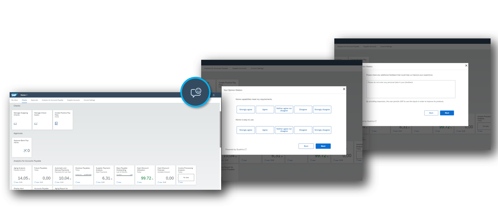 Three-screen%20overview%20of%20Product%20Experience%20Management%20%28PX%29%20at%20SAP.