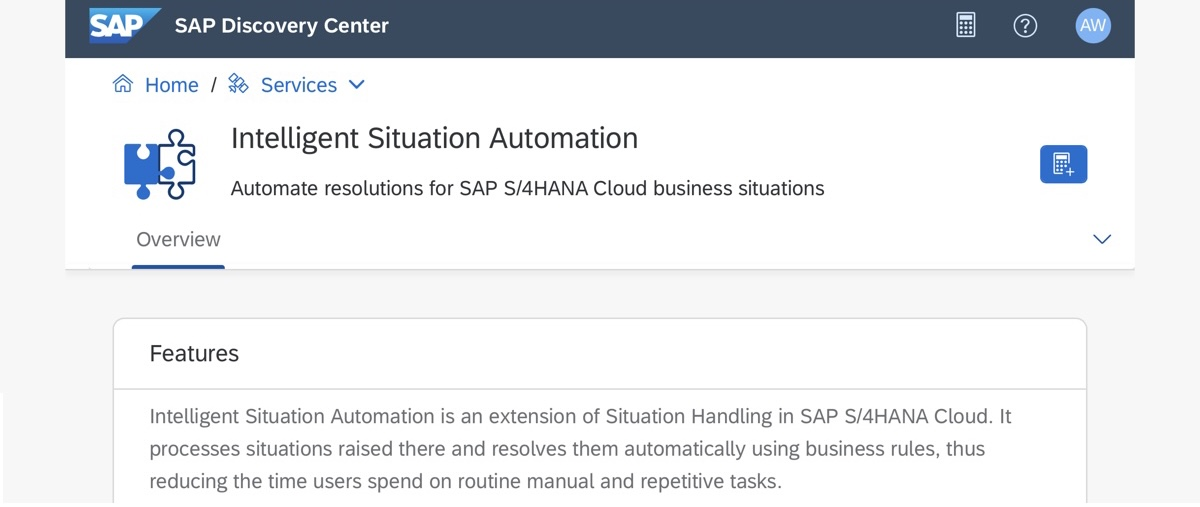 SAP%20Discovery%20Center%20-%20Intelligent%20Situation%20Automation