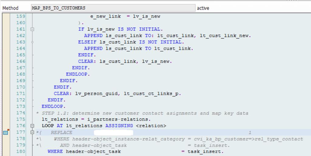 Standard%20Code%20modification