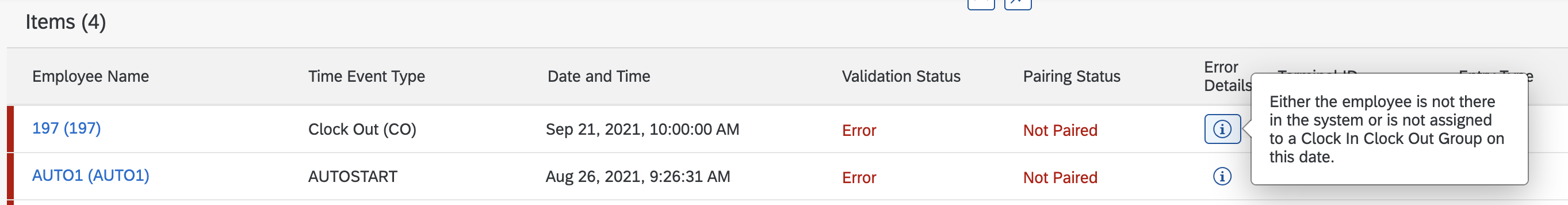 Display%20of%20Validation%20Error%20in%20Manage%20Clock%20In%20Clock%20Out%20UI