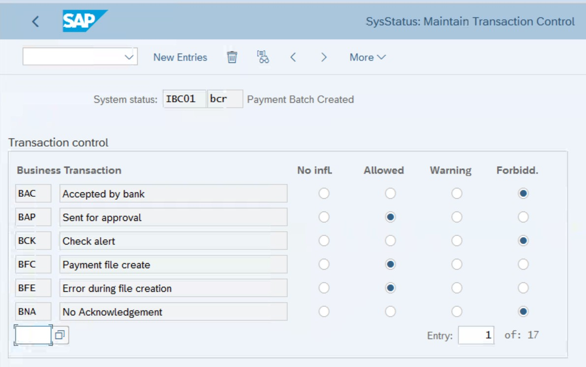 SysStatus%3A%20Maintain%20Transaction%20Control%20-%20Initial%20screen